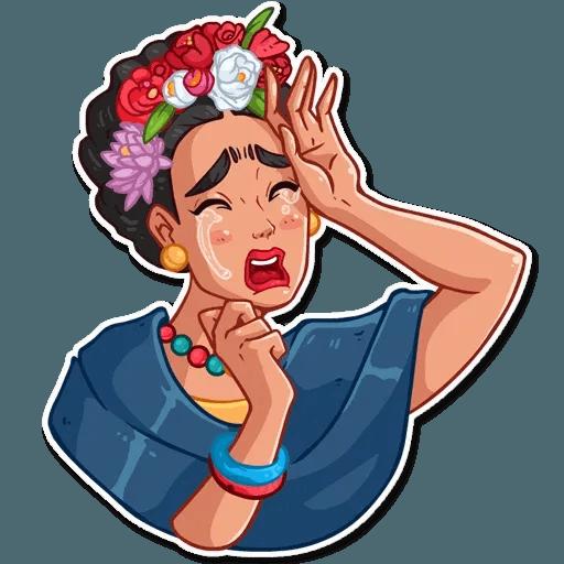 Frida Kahlo - Sticker 16