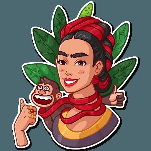 Frida Kahlo - Sticker 26