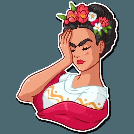 Frida Kahlo - Sticker 23