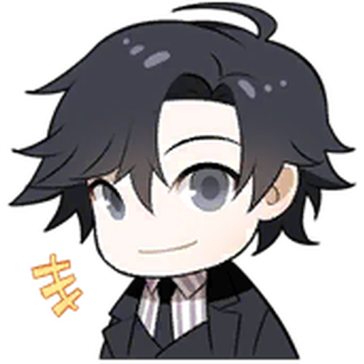 Jumin - Tray Sticker