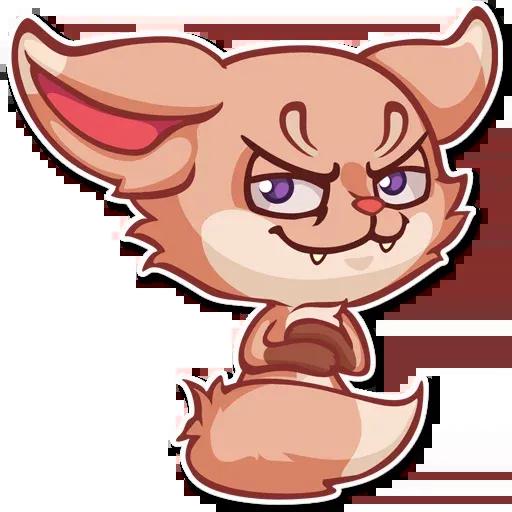 The Fennec Fox - Sticker 17