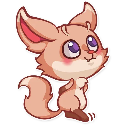 The Fennec Fox - Sticker 8