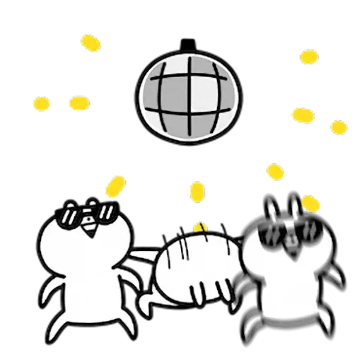 白色一粒野 - Sticker 12