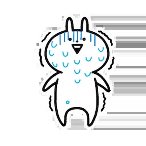 白色一粒野 - Sticker 22