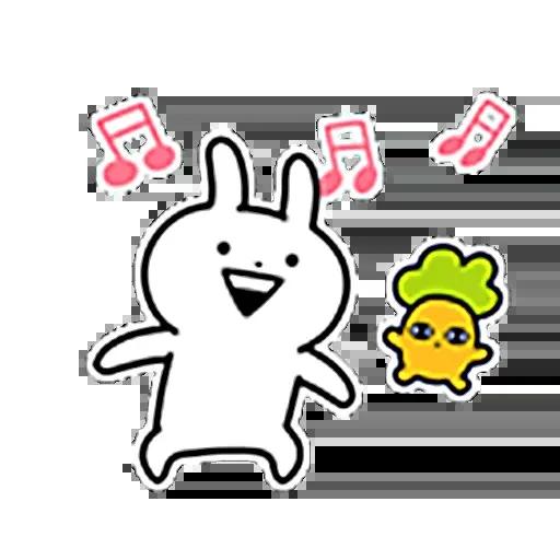 白色一粒野 - Sticker 28