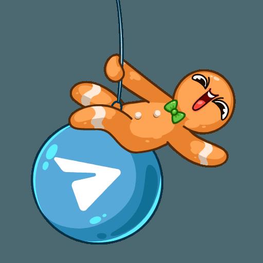 Gingerbread Man - Sticker 24