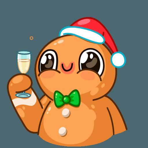 Gingerbread Man - Sticker 12