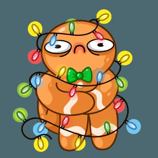 Gingerbread Man - Sticker 11
