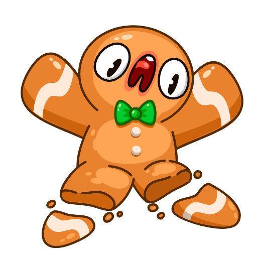 Gingerbread Man - Sticker 15