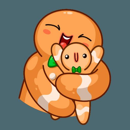 Gingerbread Man - Sticker 17