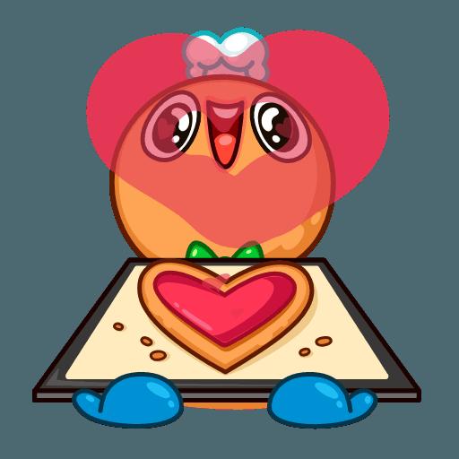Gingerbread Man - Sticker 25