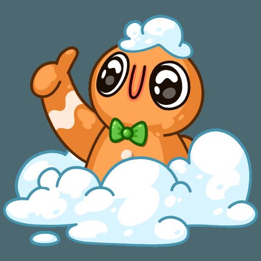 Gingerbread Man - Sticker 23