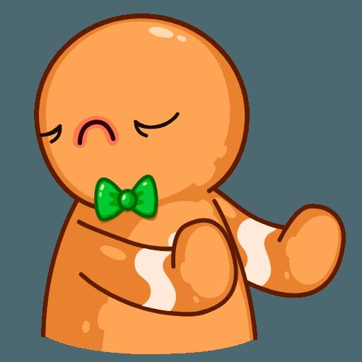 Gingerbread Man - Sticker 8