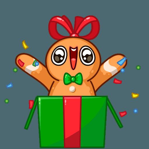 Gingerbread Man - Sticker 7
