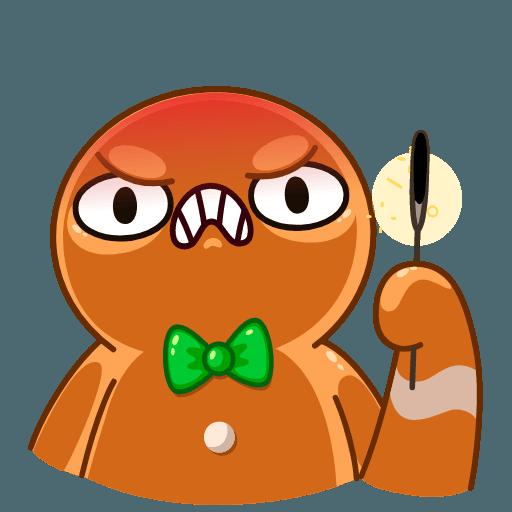Gingerbread Man - Sticker 19