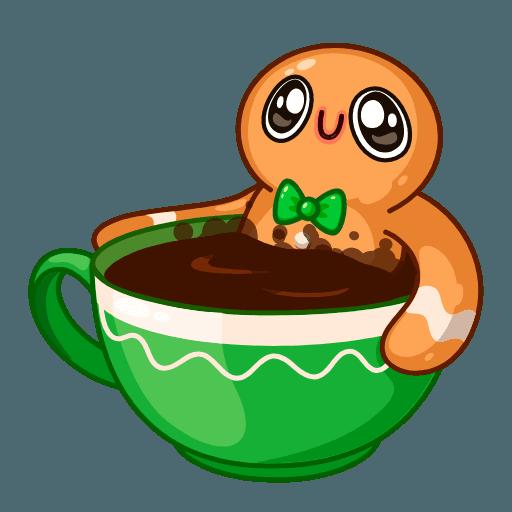 Gingerbread Man - Sticker 13