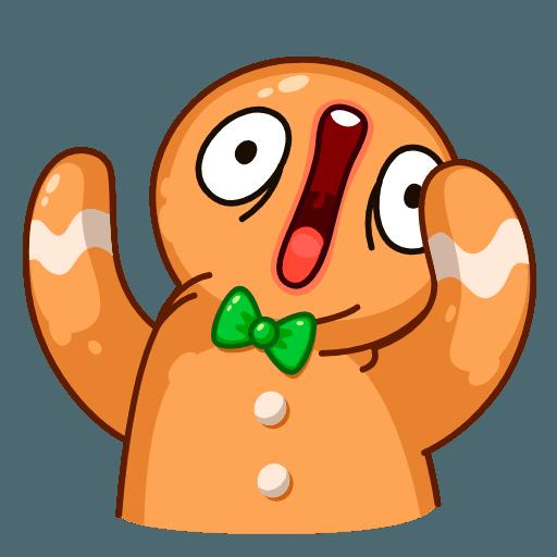 Gingerbread Man - Sticker 6