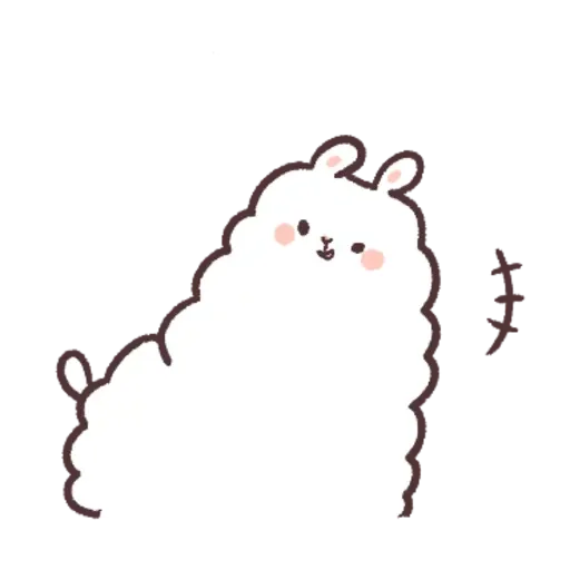 Alpaca - Sticker 3