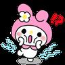 My Melody 3 - Tray Sticker
