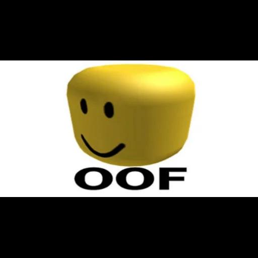 Oof 1 - Tray Sticker