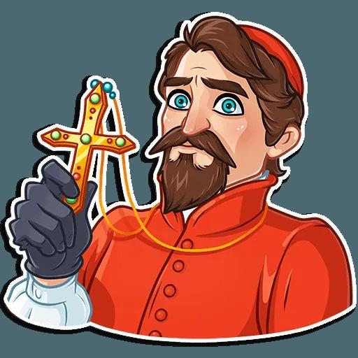 Inquisitor - Tray Sticker