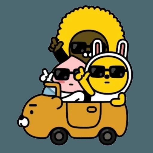 撚撚的Kakao Friends 99 - Tray Sticker