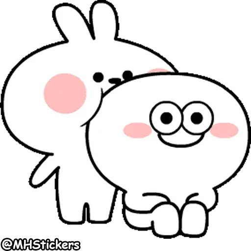 Rabbit - Sticker 20
