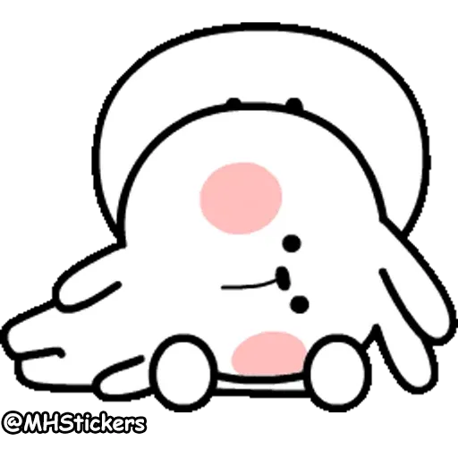 Rabbit - Sticker 10