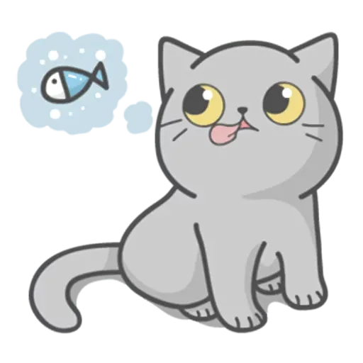 Cat Fullmoon - Sticker 19
