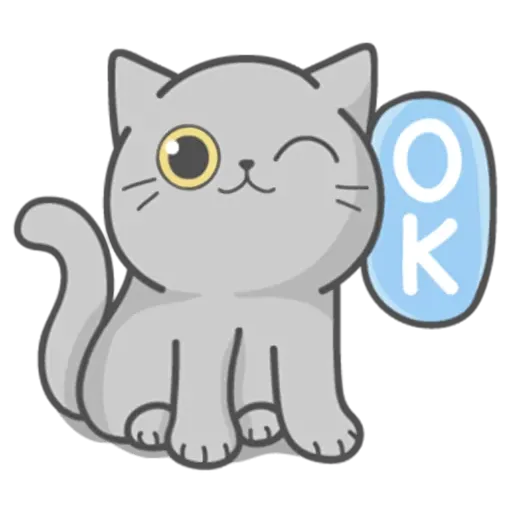 Cat Fullmoon - Sticker 18