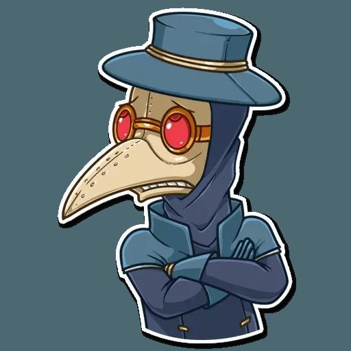 Plague M.D. - Sticker 5