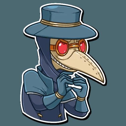 Plague M.D. - Sticker 4