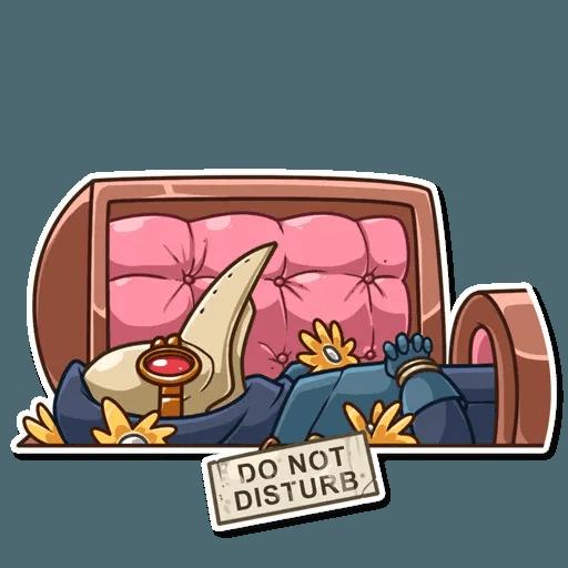 Plague M.D. - Sticker 2