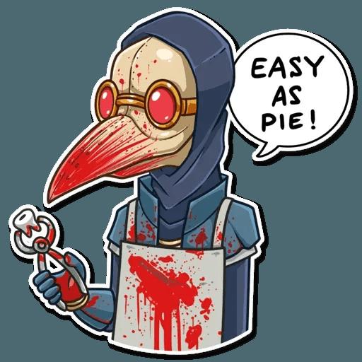 Plague M.D. - Sticker 30
