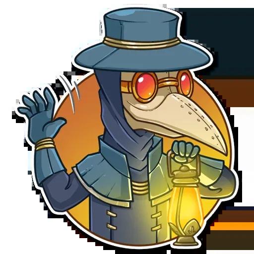 Plague M.D. - Sticker 19