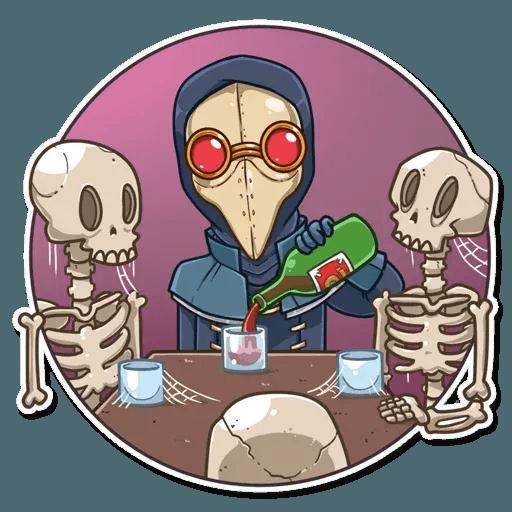 Plague M.D. - Sticker 7