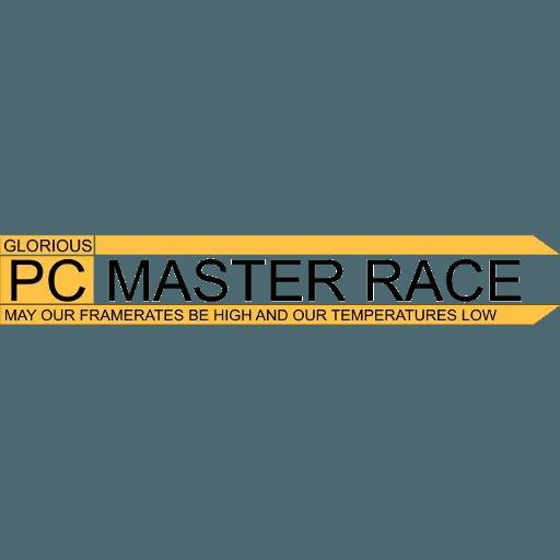 PC MASTER RACE - Sticker 14