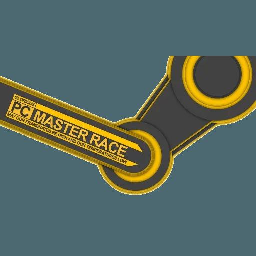 PC MASTER RACE - Sticker 1