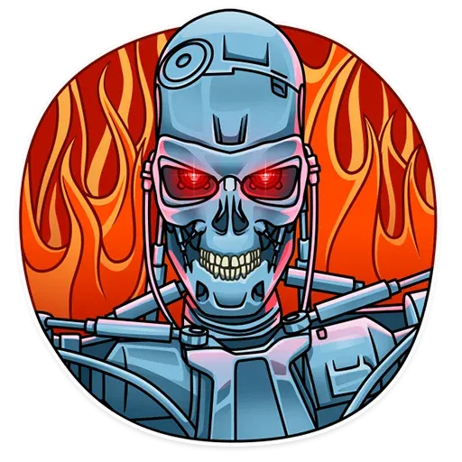 Terminator - Sticker 21