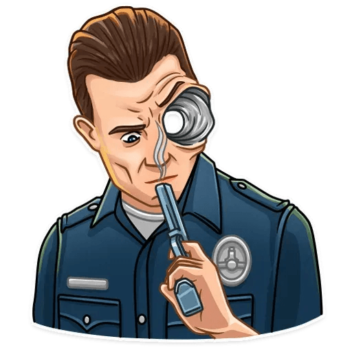 Terminator - Sticker 23