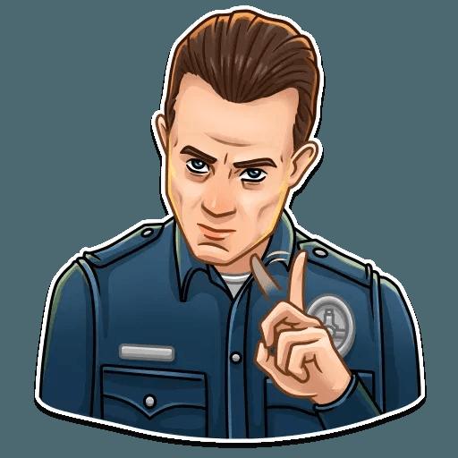 Terminator - Sticker 6