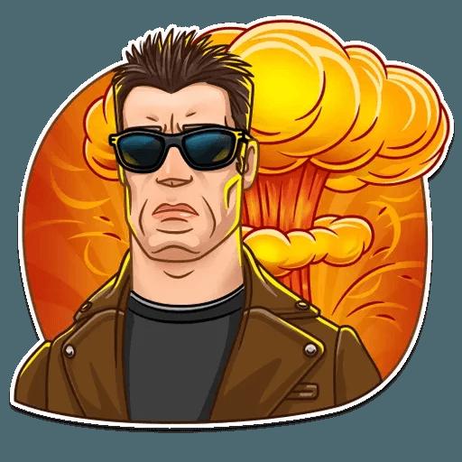 Terminator - Tray Sticker