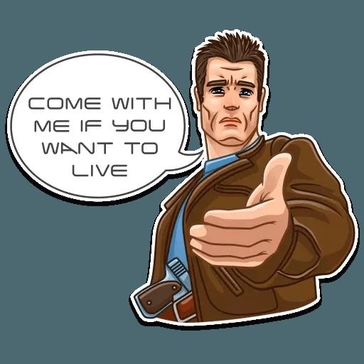 Terminator - Sticker 14