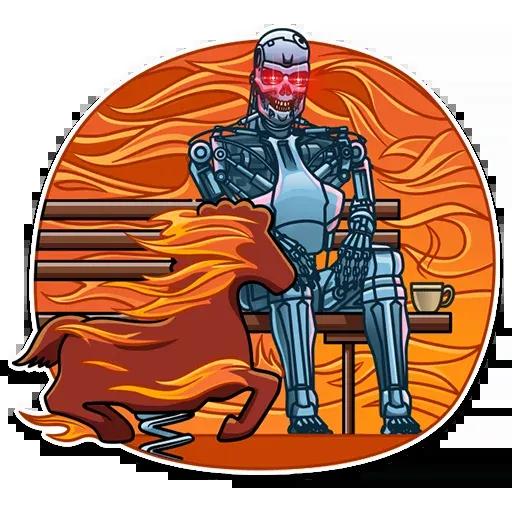 Terminator - Sticker 28