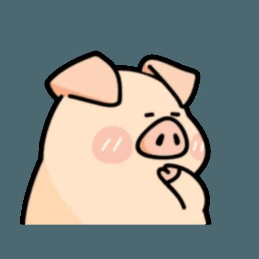 豬與蛙 2 - Sticker 8