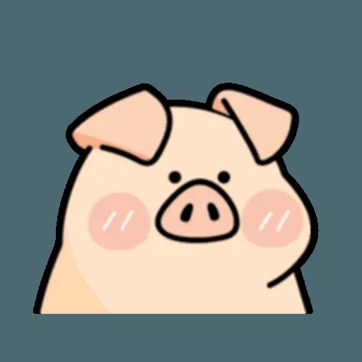 豬與蛙 2 - Sticker 28