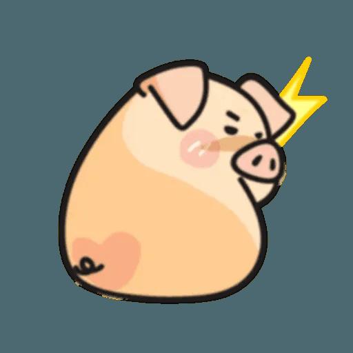 豬與蛙 2 - Sticker 14