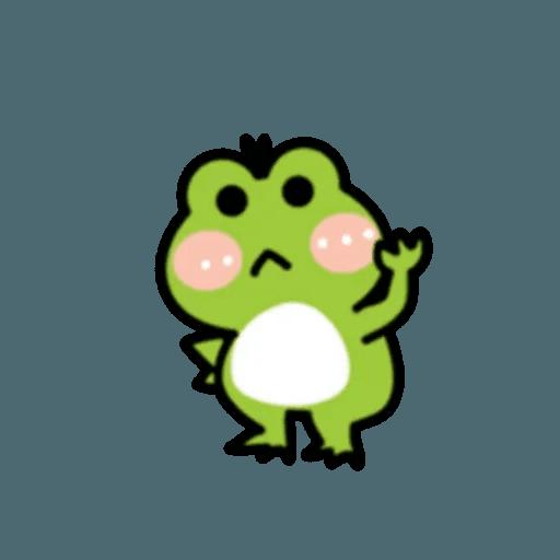 豬與蛙 2 - Sticker 27