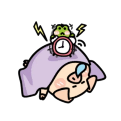 豬與蛙 2 - Sticker 22