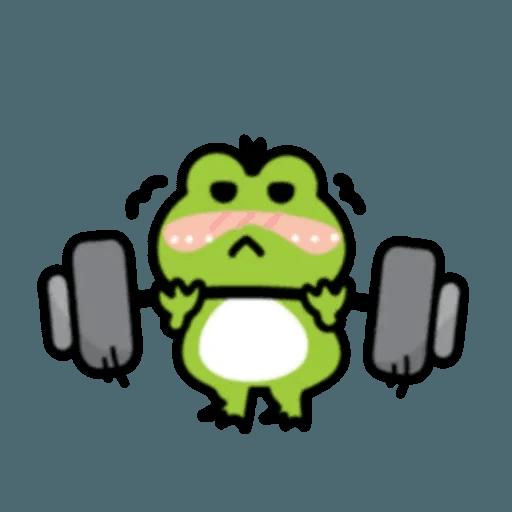 豬與蛙 2 - Sticker 13